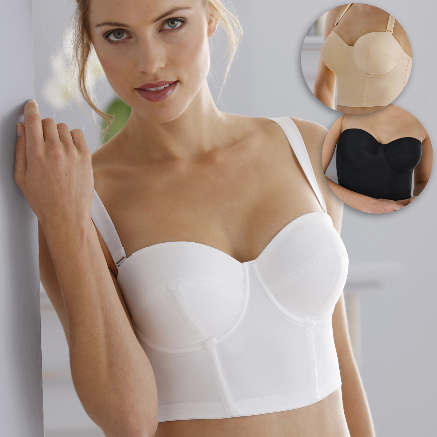 Miss Mary Long Underwired Bra E - Wired bra