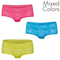 3-Pakkaus Björn Borg Love All Lace Hotpant Mix