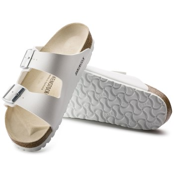 Birkenstock Arizona White Läder