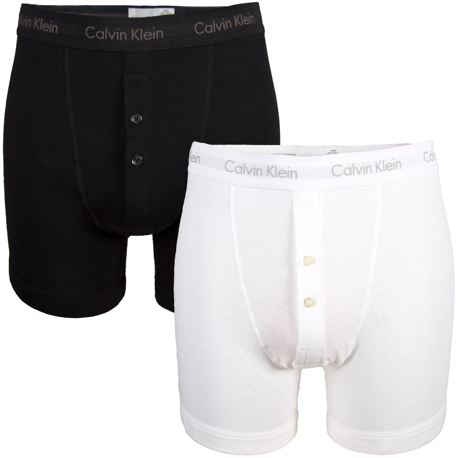 2 pack calvin klein button fly boxershorts boxer