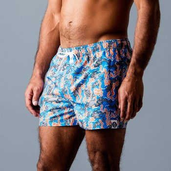 Frank Dandy Leo Lyxxx Fishy Swimshorts