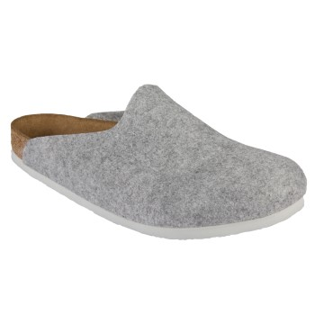 Birkenstock Amsterdam Felt Light Grey