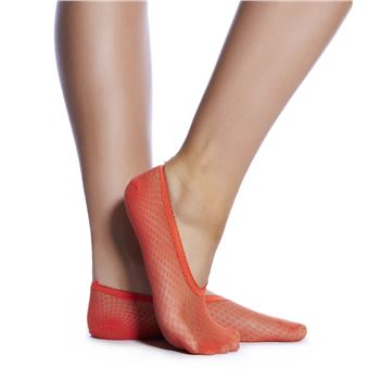 Calvin Klein Lace Liner Sock Orange