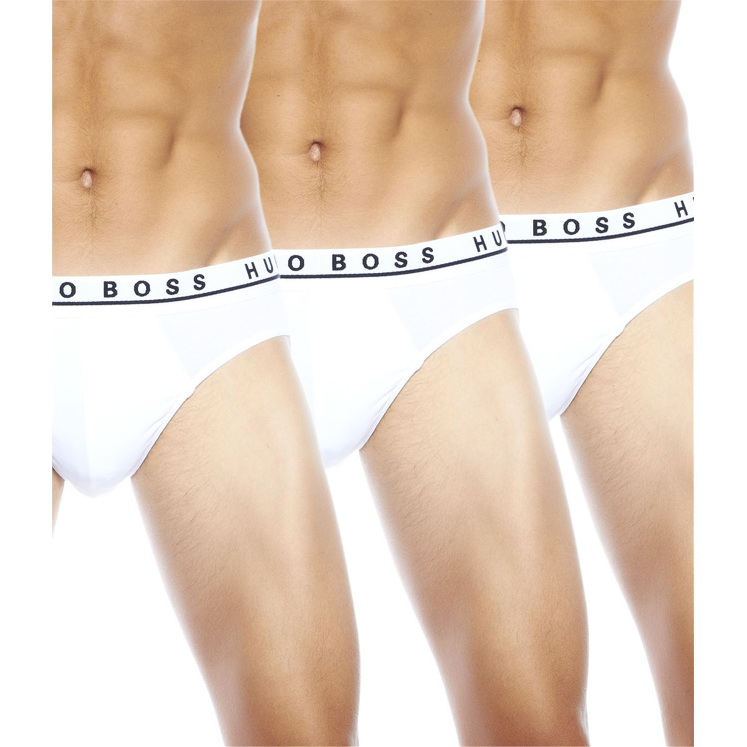 Hugo Boss Cotton Stretch Brief White