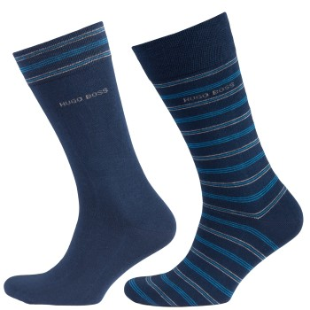 Hugo Boss Socks Striped Pattern 2-pack
