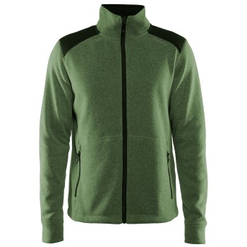 Craft Noble Zip Jacket Heavy Knit Fleece Men * Gratis Fragt *