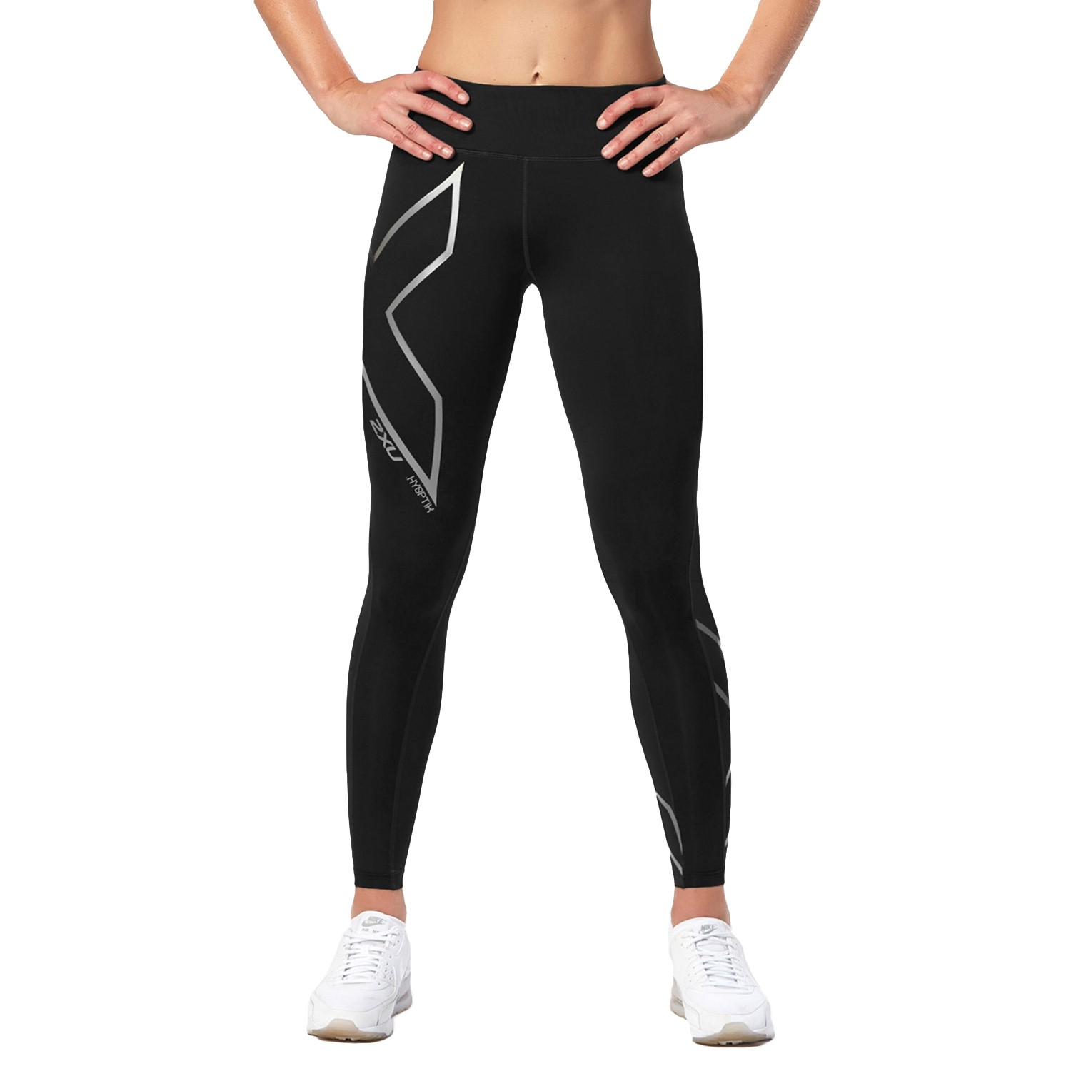 2XU Hyoptik Mid-Rise Compression Tights