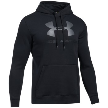Under Armour Rival Fleece Fitted Graphic Hoodie * Maksuton Kuljetus *