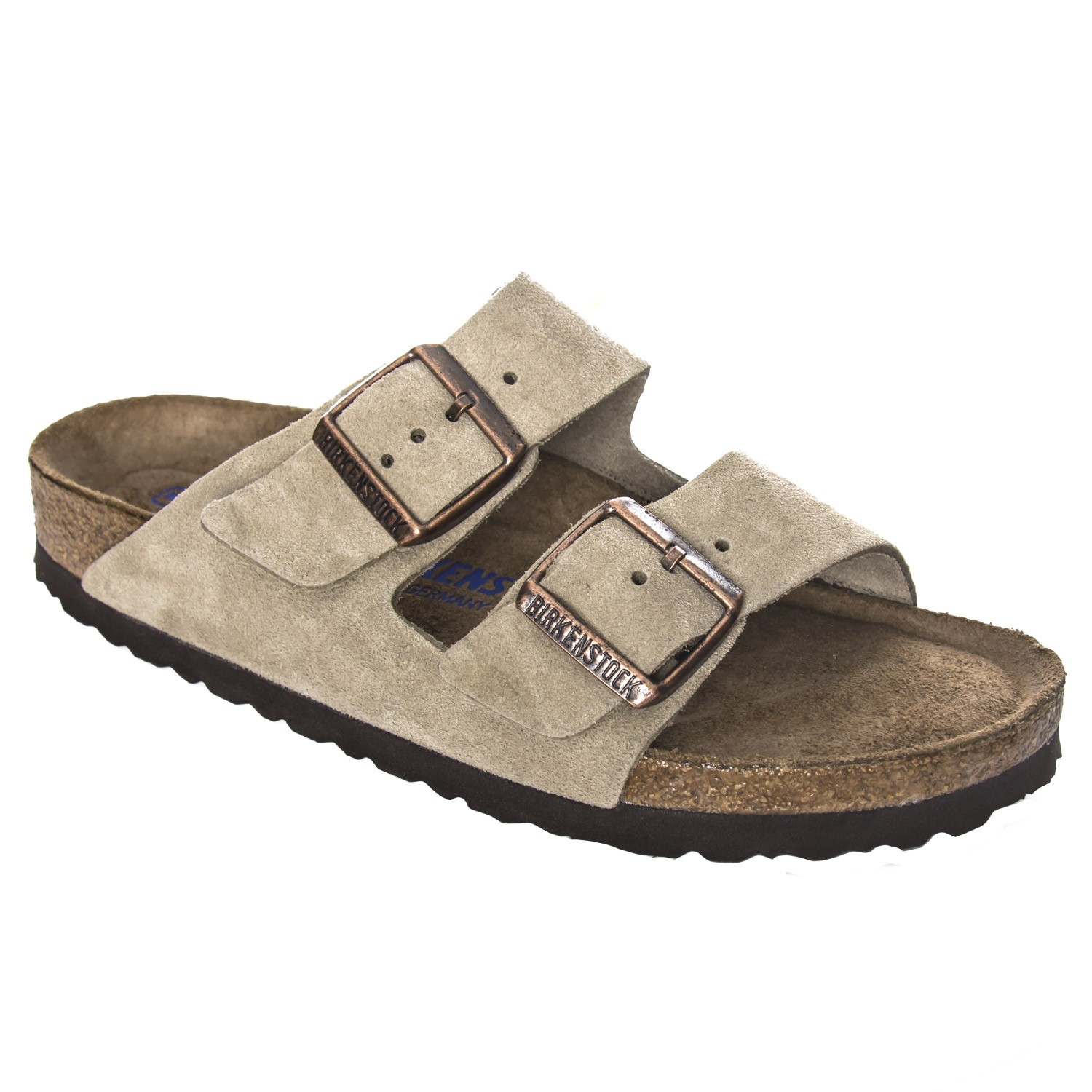 38a3a88a0758 Birkenstock Arizona Suede Leather Soft Footbed - Slippers - Everyday ...