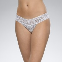 "Hanky Panky ""I DO"" Low Rise Thong White"