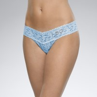 "Hanky Panky ""I DO"" Low Rise Thong Blue"