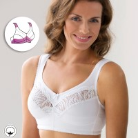 Miss Mary Soft Cup Bra with Cotton F-H