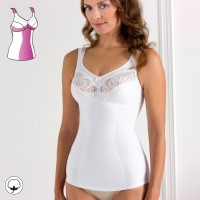 Miss Mary Shaping Cotton Camisole B-D