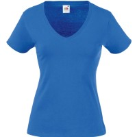 Fruit of the Loom Lady Fit Valueweight V-neck T