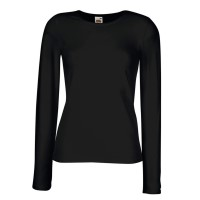 Fruit of the Loom Lady-Fit Long Sleeve Crew Neck