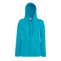 Fruit of the Loom Lady-Fit Hooded Sweat Jacket